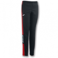 Pantaloni lungi Joma Champion Iv negru-rosu pentru Dama