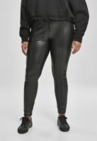 Pantaloni piele ecologica Skinny pentru Dama negru Urban Classics