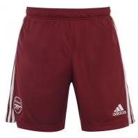 Pantaloni scurti adidas Arsenal Away 2020 2021 rosu
