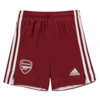 Pantaloni scurti adidas Arsenal Away 2020 2021 pentru Copil rosu