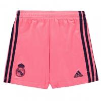 Pantaloni scurti adidas Real Madrid Away 2020 2021 pentru Copil roz