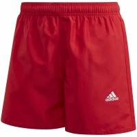 Pantaloni scurti Bathrobes For Adidas YB Bos rosu GE2048 pentru Copil