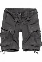 Pantaloni scurti cargo Vintage gri-carbune Brandit