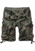 Pantaloni scurti cargo Vintage oliv-camuflaj Brandit