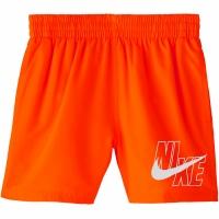 Pantaloni scurti de baie Nike Logo Solid Lap portocaliu NESSA771 822 Copil pentru Copil