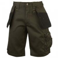 Pantaloni scurti Dunlop On Site pentru Barbat kaki negru
