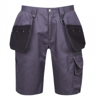 Pantaloni scurti Dunlop On Site pentru Barbat gri carbune negru