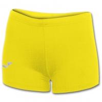 Pantaloni scurti elastici lycra Joma galben pentru Dama