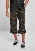 Pantaloni scurti Industry Vintage Cargo 34 inchis-camuflaj Brandit
