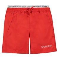 Pantaloni scurti inot Calvin Klein Calvin Double Band