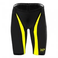 Pantaloni scurti inot Michael Phelps Michael Phelps Xpresso pentru Barbat negru galben