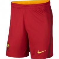 Pantaloni scurti Nike AS Roma Acasa 2020 2021 rosu
