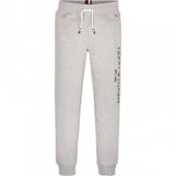 Pantaloni sport Tommy Hilfiger ESSENTIAL gri p01