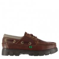 Pantofi barca Kickers Lennon maro