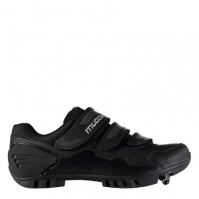 Pantofi ciclism Muddyfox MTB100 pentru Barbat negru