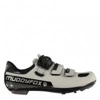Pantofi ciclism Muddyfox RBS 200 pentru Barbat argintiu