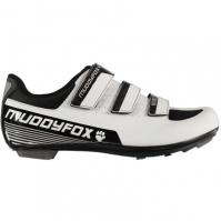 Pantofi ciclism Muddyfox RBS100 pentru Barbat alb