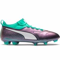 Ghete de fotbal Puma ONE 3 IL Lth FG Color Shift-Bi 104928 01 Barbat