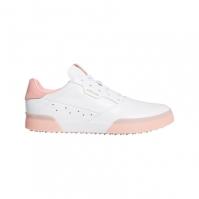 Pantofi de Golf adidas Adicross Retro pentru Dama alb roz
