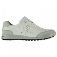 Pantofi de Golf Ecco Street Retro pentru Barbat alb gri