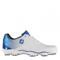 Pantofi de Golf Footjoy DNA Helix pentru Barbat alb albastru