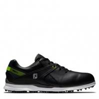 Pantofi de Golf Footjoy Pro SL pentru Barbat negru verde lime