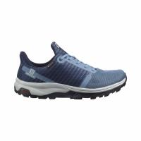 Pantofi Drumetie Dama Salomon OUTBOUND PRISM GTX W Albastru