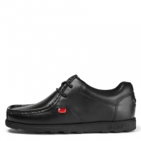 Kickers Fragma Lace Up Shoes   copil