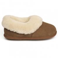 Papuci de Casa Just Sheepskin Just clasic Mule pentru Dama maro