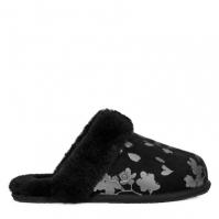Papuci de Casa Ugg Scuffette Foil negru