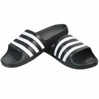 Papuci de plaja Adidas Adilette Aqua K negru F35556 Copil
