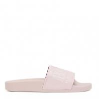 Papuci plaja BOSS Logo roz