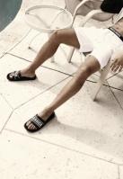 Papuci UC negru Urban Classics
