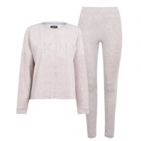 Pijamale DKNY Stretch cu Maneca Lunga