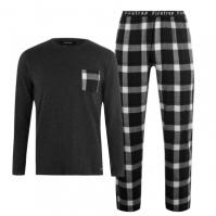 Pijamale Firetrap cu Maneca Lunga pentru Barbat