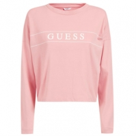Pijamale Guess Logo roz g6j1