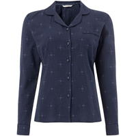 Pijamale Maison De Nimes Woven collar revere top