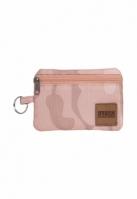 Portofel mic roz-camuflaj Urban Classics