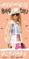 Prosop De Baie Sau Plaja Barbie Unstopabble, 70x 140cm