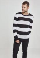 Pulover cu dungi negru-alb Urban Classics