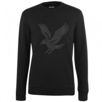 Pulover Lyle and Scott Large Eagle true negru