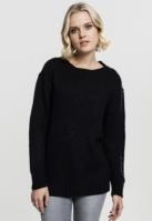 Pulover model clasic pentru Dama negru Urban Classics