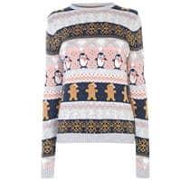 Pulovere tricotate Craciun pentru Dama