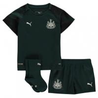 Puma Newcastle United Away Kit 2019 2020 pentru Bebelusi verde negru