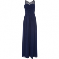 Rochie Little Mistress Beaded Top Maxi bleumarin