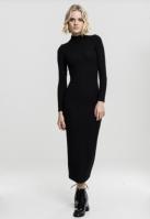Rochie lunga tip helanca pentru Dama negru Urban Classics