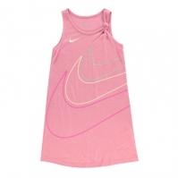 Rochie Nike Knot pentru fete pentru Bebelusi roz
