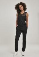 Salopeta dantela pentru Dama negru Urban Classics