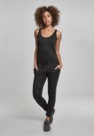 Salopeta Melange pentru Dama negru-negru Urban Classics