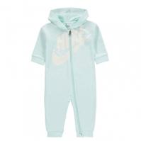 Salopeta Nike Swoosh pentru fete pentru Bebelusi bleu tint